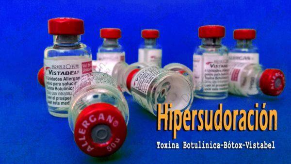 tratamiento del sudor botox hipersudoracion hiperhidrosis zaragoza