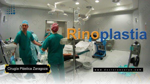 Quirófano durante una rinoplastia